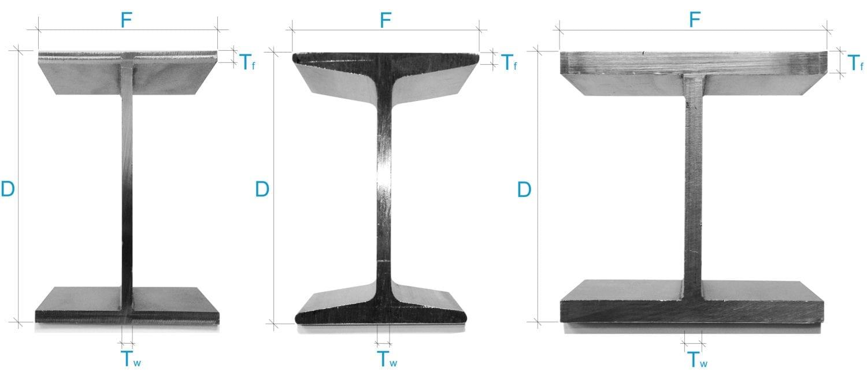 Stainless Steel Beams variations
