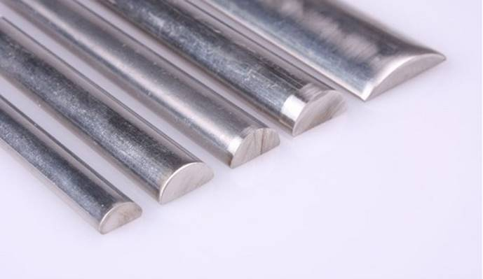 Stainless Steel Half Round Bars